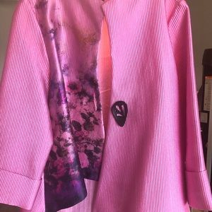 Beautiful Rose Colored IC Jacket